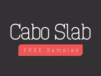 Cabo Slab Free Font