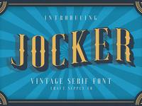 Jocker Free Font
