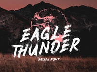 Eagle Thunder Free Brush Font