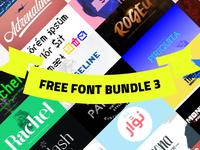 +100 Free font bundle 3