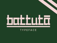 Battuta Free Typeface
