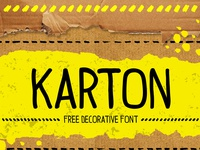 Karton Free Font