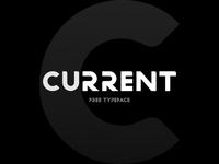 Current Free Font