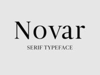 Novar Free Font