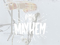 Mayhem Free Hand Drawn Font