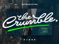 Crumble Free Script Font