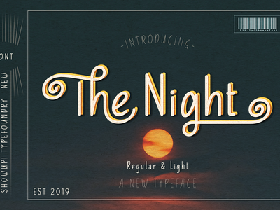 The Night Free Typeface