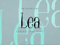 Lea Free Font