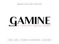 Gamine Free Font