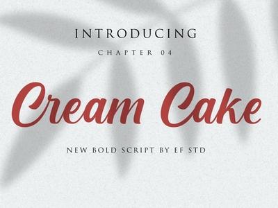Cream Cake Free Font