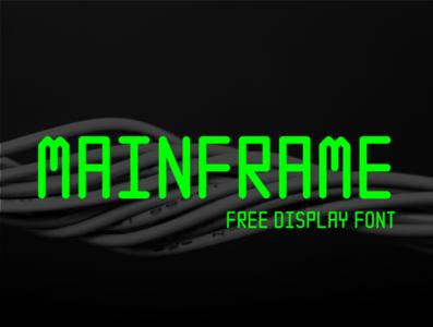 Mainframe Free Font