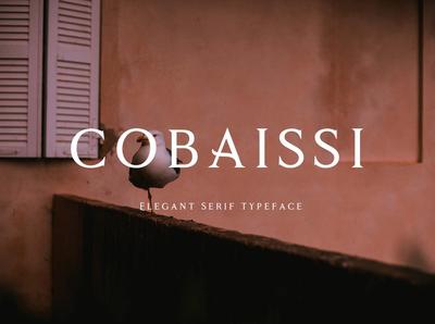 Cobaissi Free Font