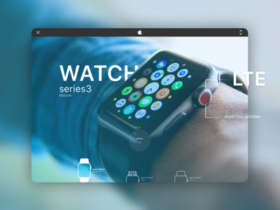 Apple Watch Store Redesign lifestyle series3 watch apple