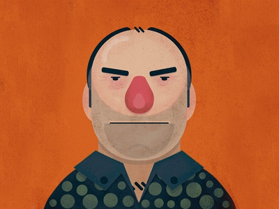 Tony Soprano Vector character james gandolfini avatar illustrator comic cartoon vector illustration the sopranos tony soprano