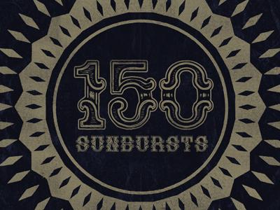 150 sunbursts
