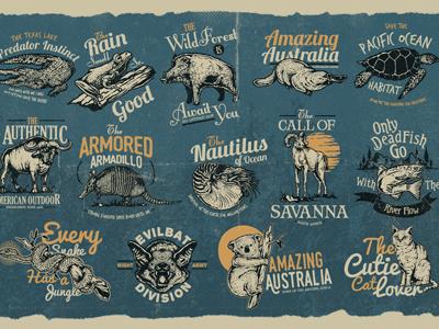 Animal Badges