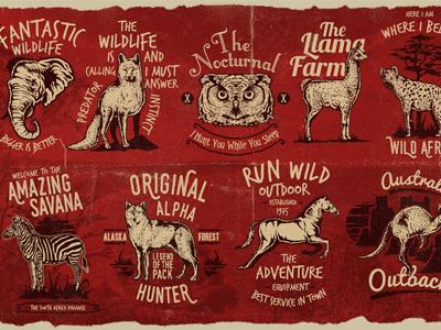 Animal Badges 2