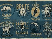 Animal Badges 3