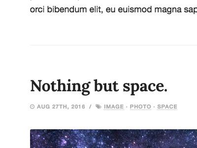 Article Format on new design. typography minimal blogging writing reading theme wordpress