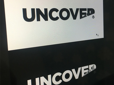 Uncover WP logo mark brand uncover wp wordpress