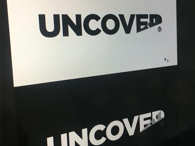Uncover WP logo mark brand uncover wp wordpress