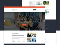 Maintenance Repair Website Concept