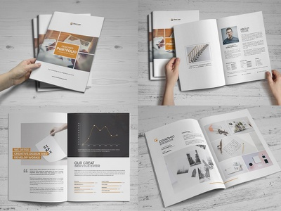 Portfolio Brochure Design illustration brochure design college catalog portfolio brochure portfolio card booklet design trifold brochure flyer design portfolio trifold print design mockup flyer design education annual report prospectus leaflet brochure