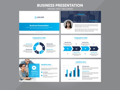 Business Presentation Vector Template
