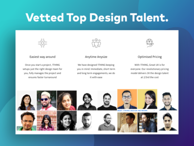 Vetted Top Design Talent