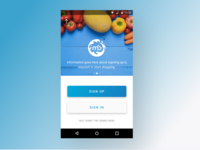 App Design for Milkbasket