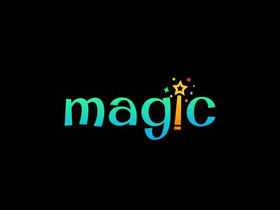Magic logo concept