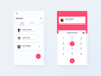 Chats List & Call