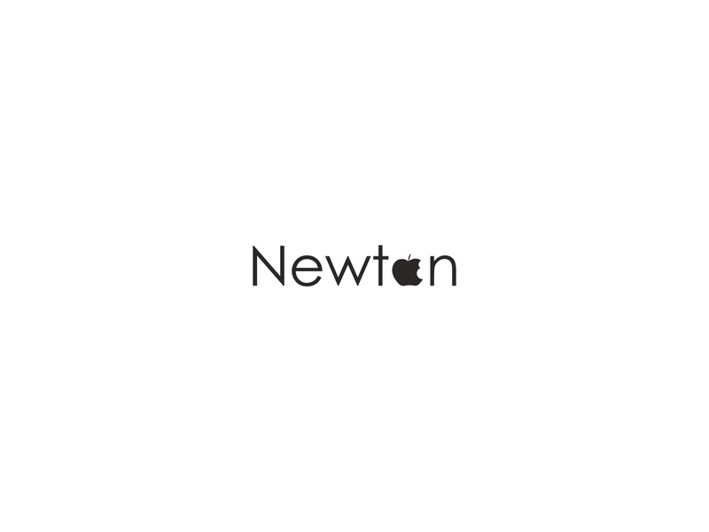 Newton cr word marks vector creative  design logo typography branding verbicons illustration