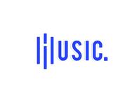 """Music"" logo design"