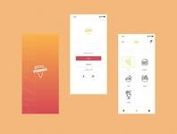 Pizzeria App design