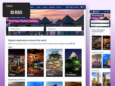 Royal Bank of Scotland - Web and Native App casestudy client work product design mobile app design client app design ui ux