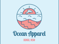 Beach clothing logo