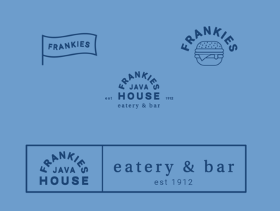 Some branding concepts for Frankie's