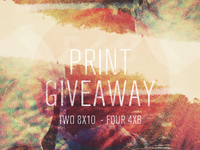 Print Giveaway