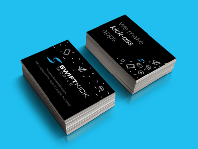 Business Cards for SwiftKick Mobile