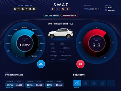 Swap Live Auction