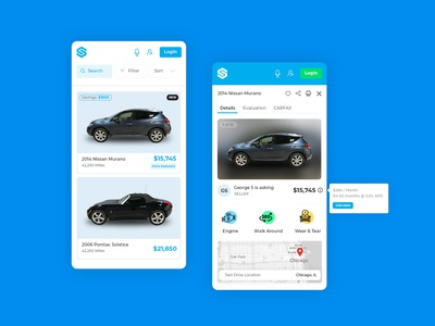 Vehicle Marketplace and Listing