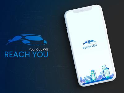 Reach You material design taxi driver taxi taxi app ux ui design