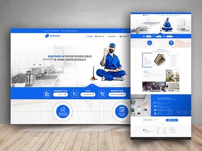 Interior Design interior architecture interior design webdesign website ui design