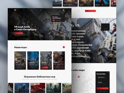 Anvio — website for VR #1 in Russia (2019)