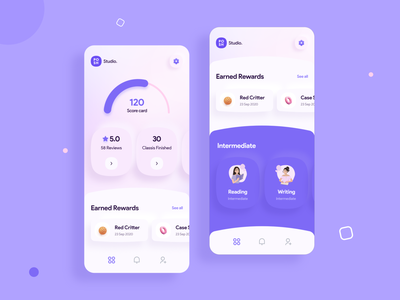 Earning with activities rewards rewards app earn money mockup earning app application design web design app design uxdesign ux design ui design uidesign uiux minimal mobile app
