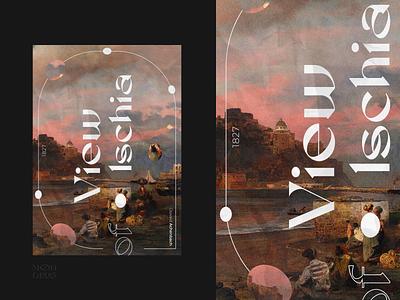 Poster. Ischia poster design sunset poster people sea font fonts branding logo illustration webdesign social figma design design 2021 figma ui artist visual web design poster
