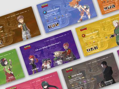 Kanto Gym Leaders - Pokémon Stadium Redesign