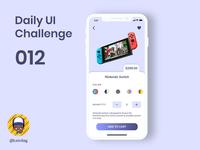 Daily UI Challenge 012 - E-Commerce Shop