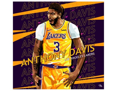 Anthony Davis - Digital Artwork